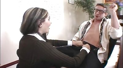 Stupefying latin Mikayla is about to start moaning from pleasure while fucker is licking her poontang