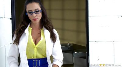 Filthy Ariella Ferrera with firm tits whimpers on a thick and long big shaft