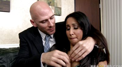 Striking latin brunette sweetie Isis Love got fucked hard and enjoyed every second of it